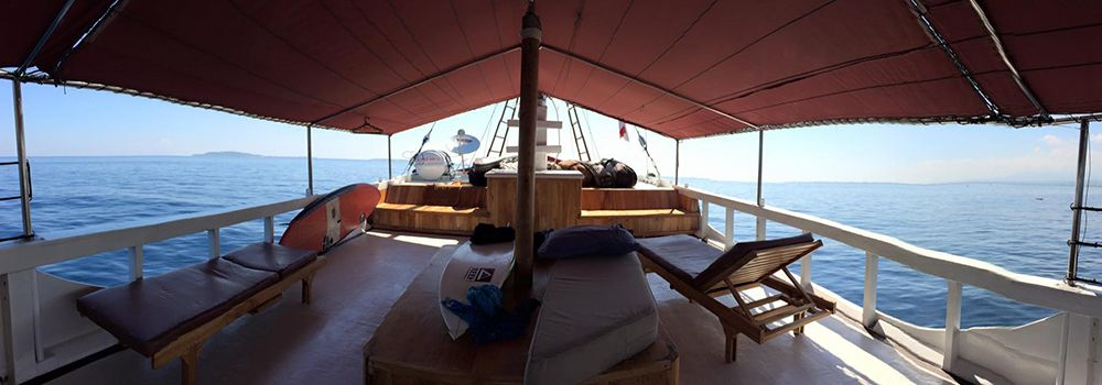 Top deck panorama